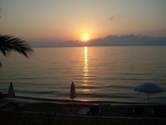 Corfu Senses Resort: tramonto
