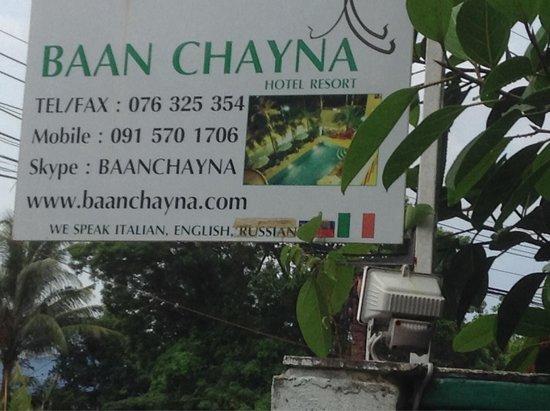 Baan chayna