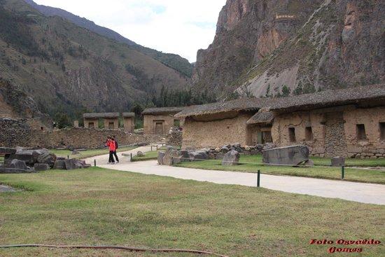 Tempel von Ollantaytambo: Portaria de entrada