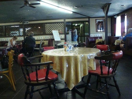 Catfish Palace: Inside Dining Area