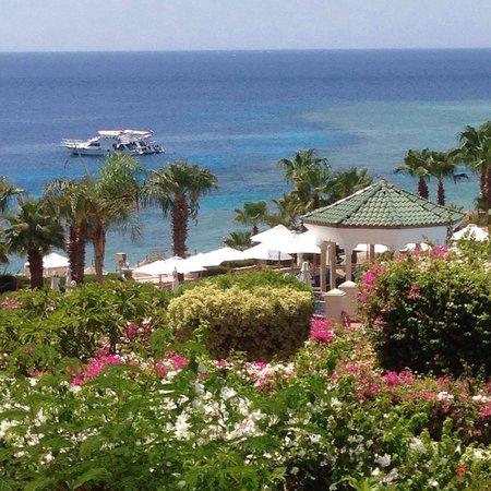 Hyatt Regency Sharm El Sheikh Resort: The view from the balcony
