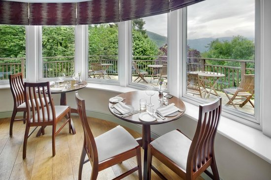 The Restaurant at The Cottage in the Wood: Stunning Forest and Mountain Views