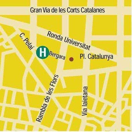 Hotel Pulitzer: Map