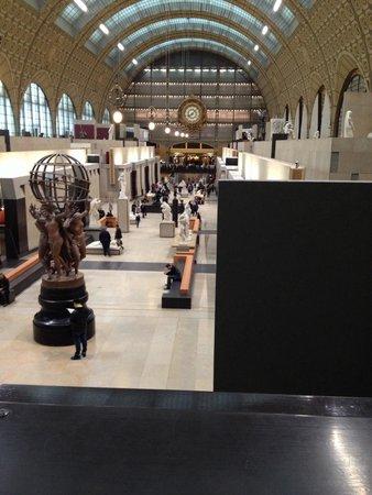 Musée d'Orsay : Inside