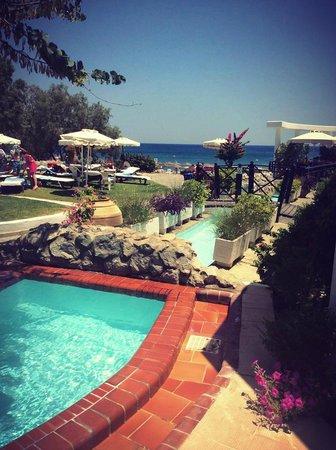 Piscine bild fr n hotel calypso faliraki tripadvisor for Piscine calypso