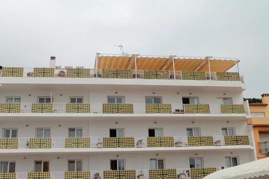 Hotel Santa Anna: terrasse