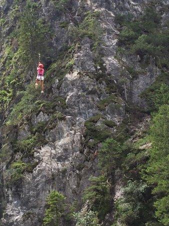 Gola della Galizia: Parco avventura gole della Galizia percorso per esperti