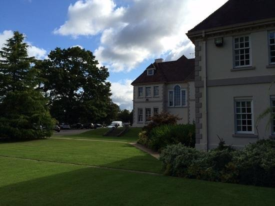 Brockencote Hall Hotel: View from the croquet lawn