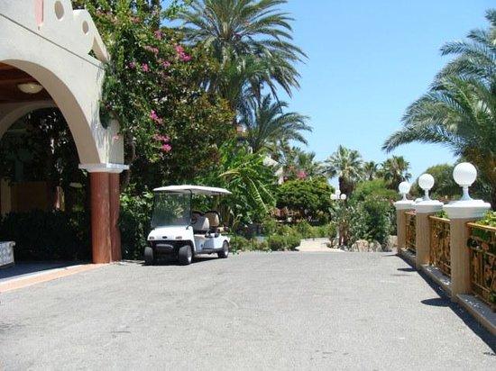 Atrium Palace Thalasso Spa Resort & Villas : Hotel Pforte