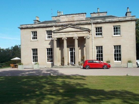 Boath House: entrance