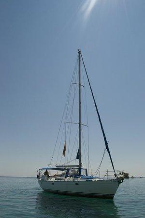 مدينة ناكسوس, اليونان: Captain Panos's boat