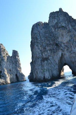 I Faraglioni: Faraglioni di Capri, dettaglio