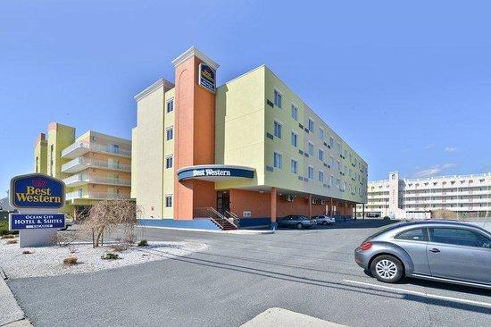 BEST WESTERN Ocean City Hotel & Suites: Hotel Entrance