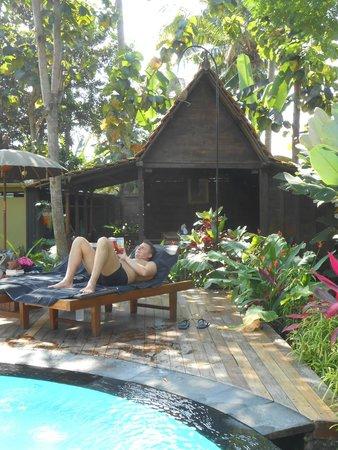 KajaNe Yangloni Private Boutique Health & Leisure Centre: petite piscine
