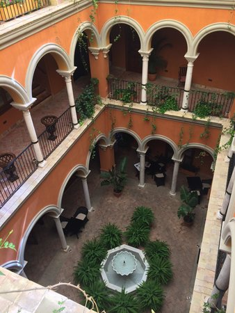 Boutique Hotel Casa del Poeta : View from the second floor
