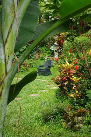 Hunte's Gardens : Chairs hidden away everywhere to just sit and relax
