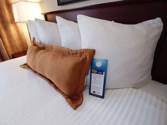 Best Western Plus Pembina Inn & Suites: Guest Room Linen