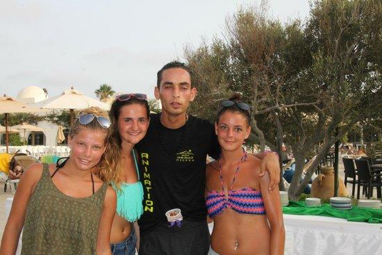 Seabel Rym Beach : Sam et ses fans de zumba