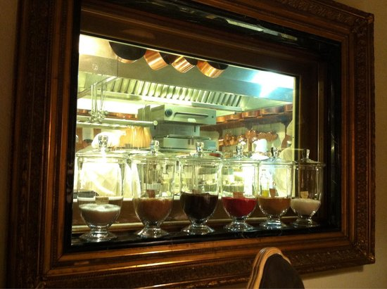 Casa Vissani: Cucina a vista