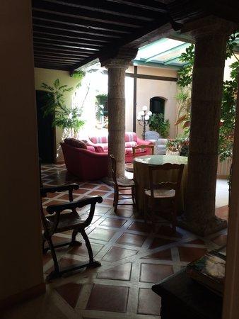 La Posada de Castrojeriz: Sitting area