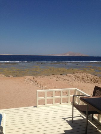 Tirana Aqua Park Resort: view from beach of Tiran Island