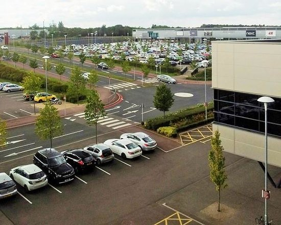 DoubleTree by Hilton Hotel Milton Keynes: View from the window