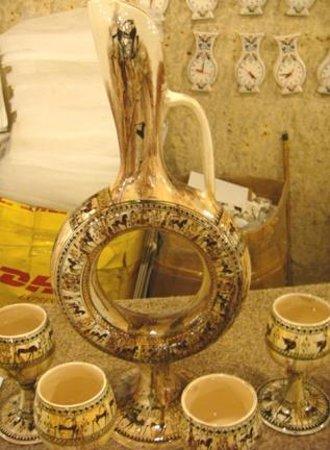 Sultans Ceramic: Sultan Ceramic wine decanter set