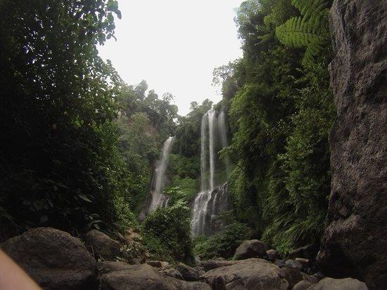 Sekumpul Waterfalls : Depuis l'arrivée à la chute