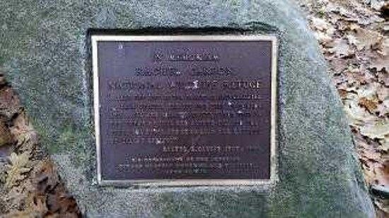 Rachel Carson National Wildlife Refuge: Racheal Carson Plaque