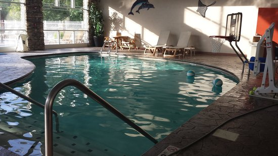 Clarion Inn Dollywood Area: indoor pool