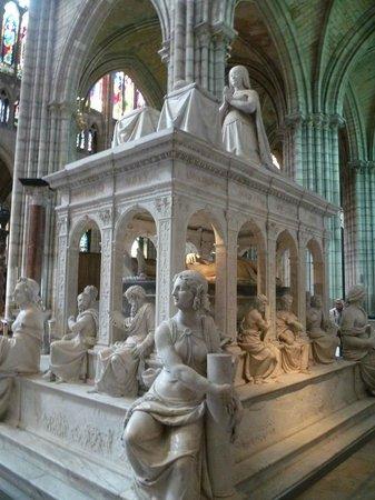 Basilique de Saint-Denis : tombeau de Louis XII et d'Anne de Bretagne