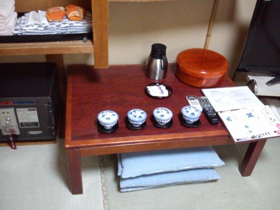 Nihonkan: green tea