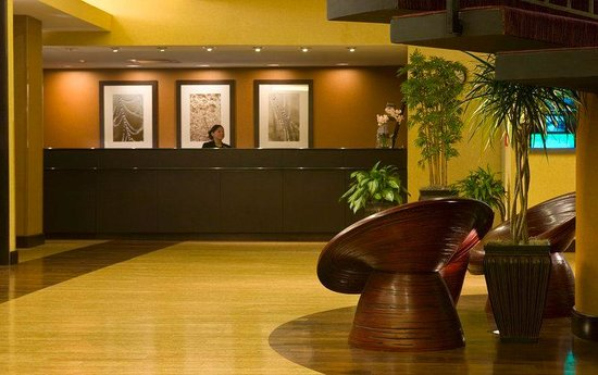 Doubletree Hotel Bethesda: Front Desk