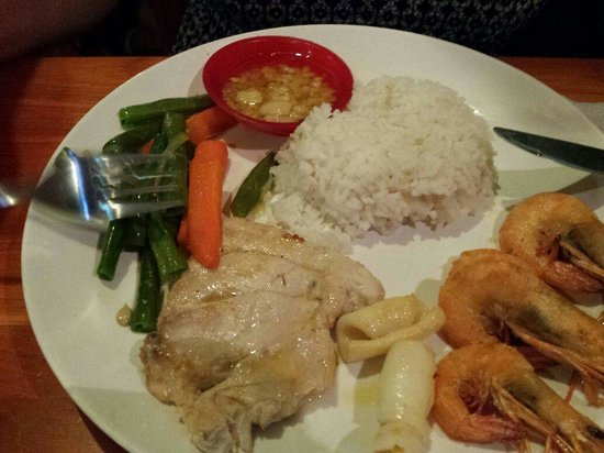 Warung Apple : Sea food plate