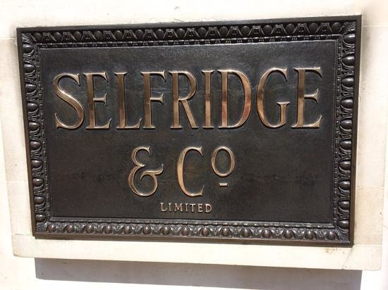 Selfridges: THE store in London