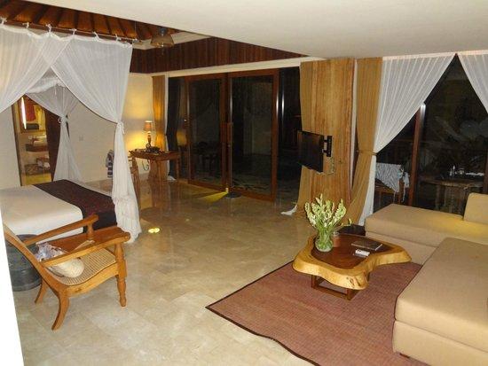 Komaneka at Tanggayuda : chambre
