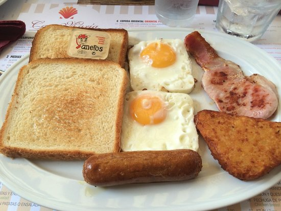 Hostal Ferrer: colazione inglese