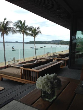 Hansar Samui Resort: Second Floor Restaurant