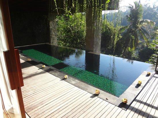 Komaneka at Tanggayuda : piscine privée