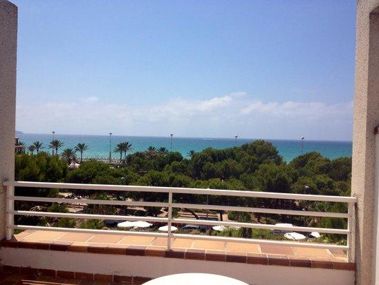 Hotel Apartamentos Plaza Son Rigo: La vista dalla nostra camera