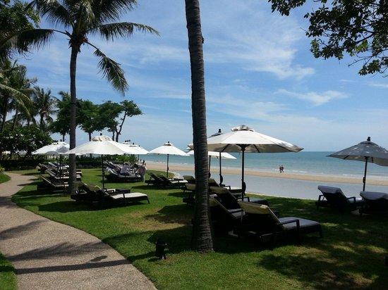 Hyatt Regency Hua Hin : 酒店沙灘範圍