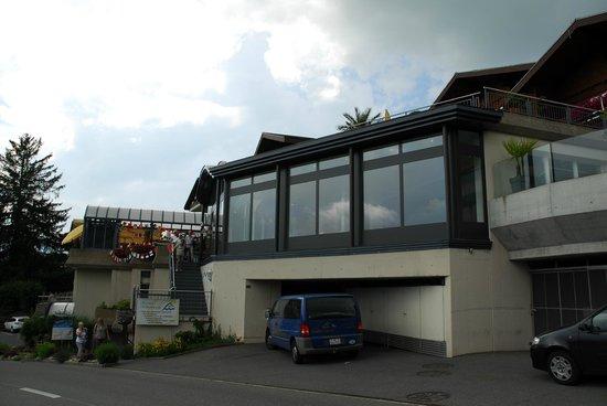 Solbad Hotel: Bad von aussen