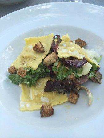 Restaurant le Pont de l Orme : ravioles maison