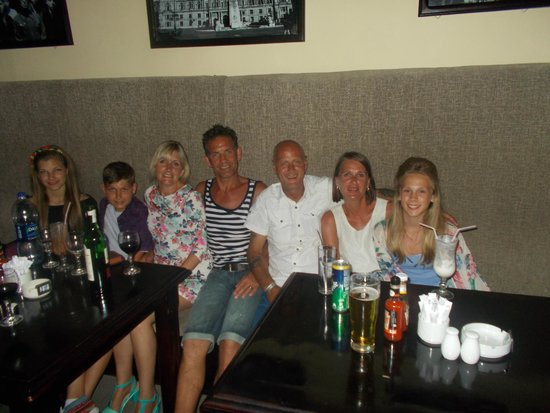 Union Jack Bar and Restaurant : great night out