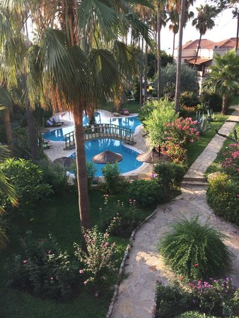 Hotel Club Tropical Beach: widok z balkonu (bajka)