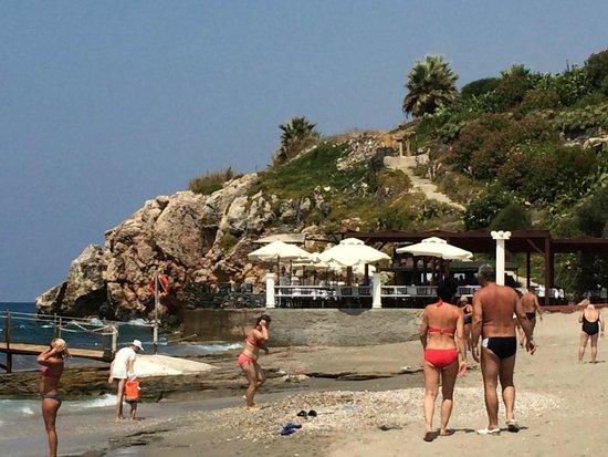 Hotel Club Tropical Beach: widoki z plaży