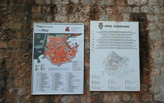 Old Town: план старого города
