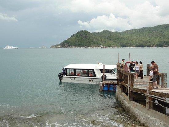 Santhiya Koh Phangan Resort & Spa : speedboat