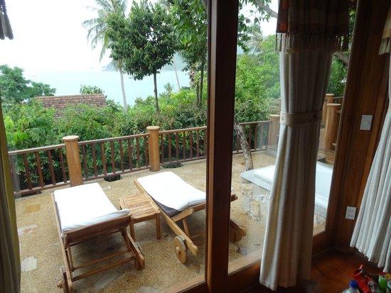 Santhiya Koh Phangan Resort & Spa : terrace