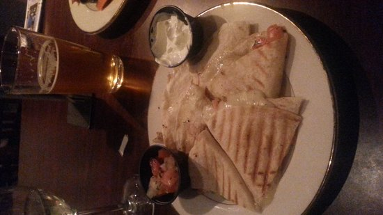 The Ruddy Duck Seafood & Alehouse: Quesadillas